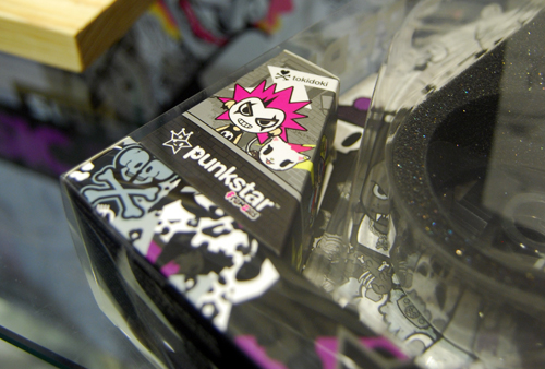 Each pack of the new Sol Republic headphones also comes with a small tokidoki figurine.