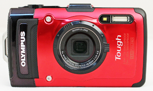 The TG-2, Olympus' latest rugged camera and successor to the TG-1.