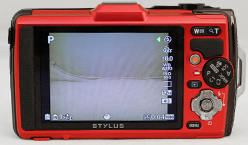 You can access a list of commonly-used shooting settings like White Balance and ISO without needing to enter the menu system, so shooting with the TG-2 is a relatively fuss-free affair.