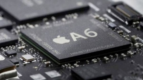 The Apple iPhone 5 is powered by the A6 processor. <br>Image source: Google