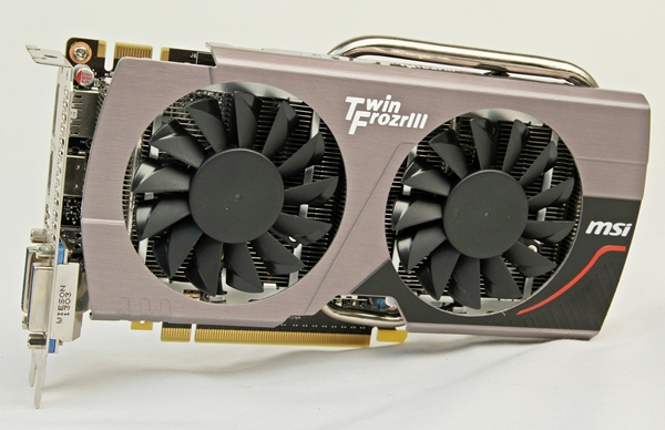 The MSI GTX 650 Ti Boost Twin Frozr III OC sports an overclocked GK104 GPU operating at a base clock of 1033MHz that is slightly higher than similar cards. Coupled with its Gaming series brand, MSI is clearly attempting to distinguish the card amid the noise faced by such mid-range ones. Sadly, it doesn't look any different as we expected a pro-gamer centric cooler styling.