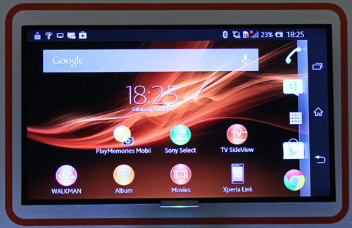 The end product of One Touch mirroring is the fact that you can turn your TV into a smartphone display.