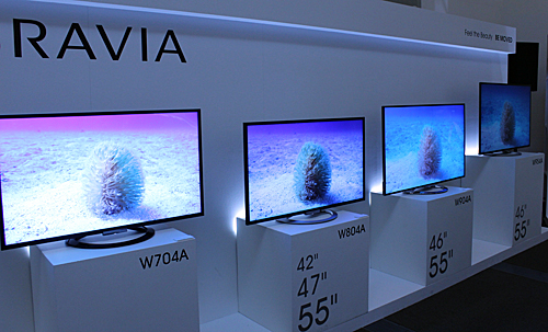 Sony's TV showings from the mega-expo CES 2013 finally make their appearance in Singapore. Availability and pricing details will be revealed soon, but let's get started with what's new about them.