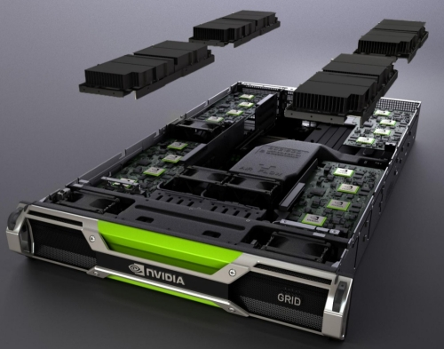 With high-density GPUs, GRID servers can deliver 36 times more HD quality gaming streams than earlier cloud-based gaming systems