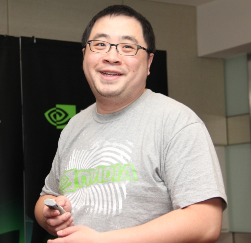 Fred Chen, Professional Solutions Architect, NVIDIA is our jolly presenter when it came to the GRID session