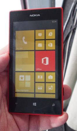 And Over Here We Have The Lumia 520
