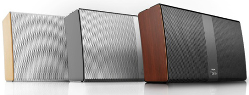 Philips Fidelio wireless portable speaker P9 (Image source: Philips)