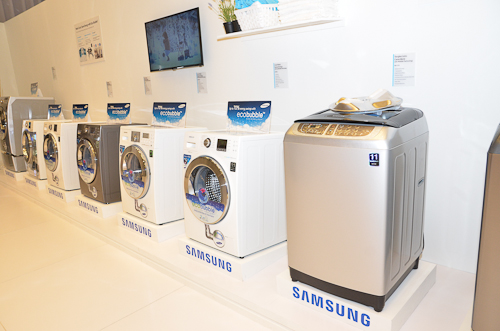 A number of digital appliances were also showcased at the event