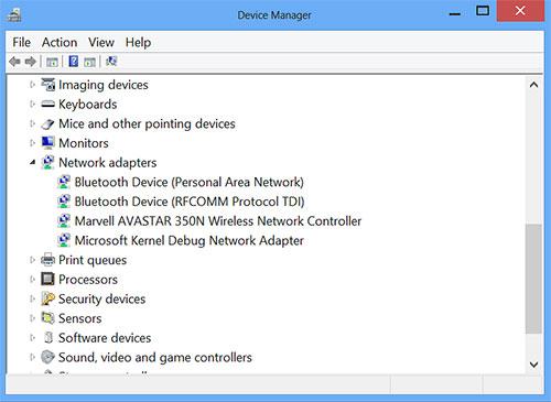 No Intel wireless adapter means no Intel wireless display (WiDi) function.