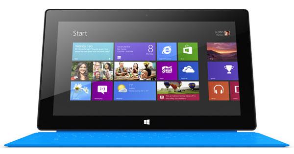 Surface RT. (Image source: Microsoft.)