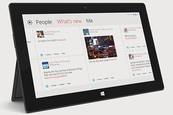 Is Microsoft working on a smaller Surface tablet? We think so. (Surface RT; Image source: Microsoft.)