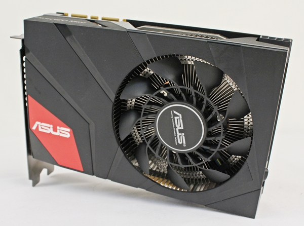 The ASUS GeForce GTX 670 DirectCU Mini OC is a compact form factor card that will fit into a mini-ITX or mATX PC chassis. With an overclocked GeForce GTX 670 GPU operating at a base clock of 926MHz and 2GB of GDDR5 video memory, this card is engineering proof of compactness without compromising on hardware requirements.