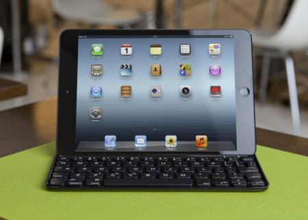 Logitech's new Ultrathin keyboard cover is designed specifically for the iPad mini