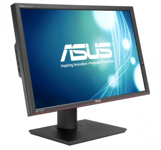 The ASUS PA249Q ProArt LCD monitor