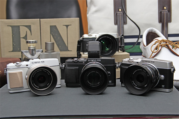 The E-P5 will come in white, black and silver.