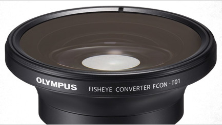 You can even mount a fisheye lens on the TG-2, though this requires the use of a converter adapter ring.