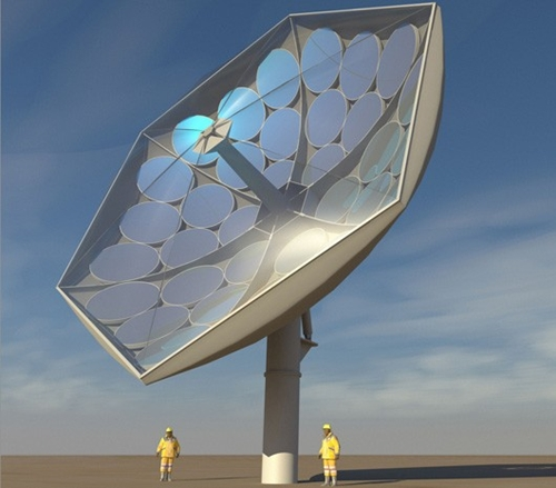 Rendering by Airlight Energy of the prototype HCPVT system. (Image Source: IBM Research)