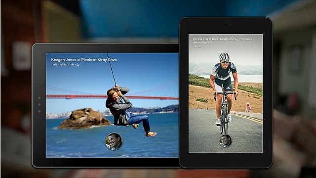 Facebook Home will be coming to tablets in the next few months.