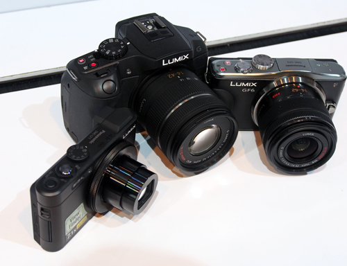 The three new releases - (from left to right) the LF1, G6 and GF6.
