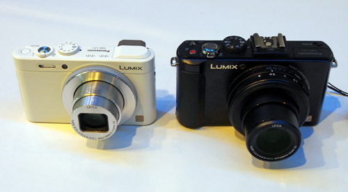 The LF1 (left), side by side with its sister, the LX7.
