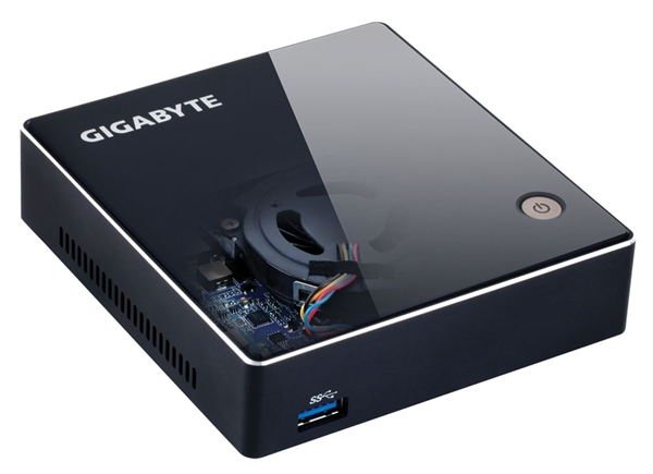 The Gigabyte Brix Mini-PC. (Image Source: Gigabyte)