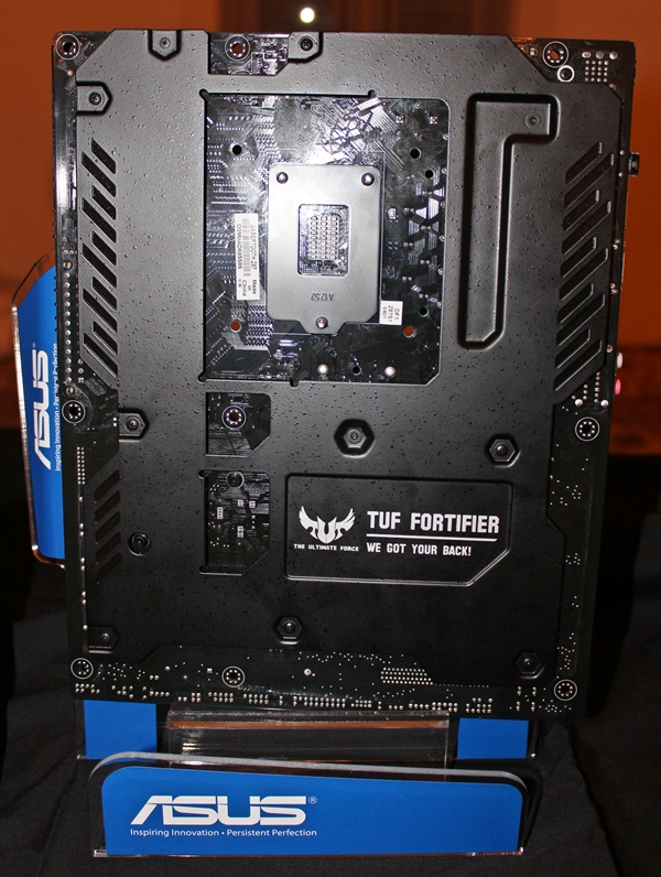 The TUF Fortifier of the Z87 Sabertooth motherboard.