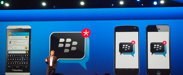 BlackBerry Messenger (BBM) is coming to Android and iOS this summer.