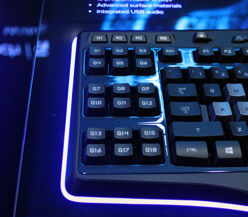 Ideal for MMO and RPG players, the G510s has 18 programmable macro keys.