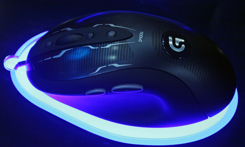 The hydrophobic coating may not do much for the mouse aesthetics, but it's intended to ensure sweaty hands do not interfere with your gaming session.