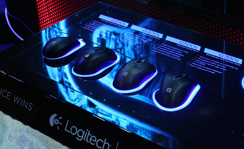 Four new gaming mice were released by Logitech.