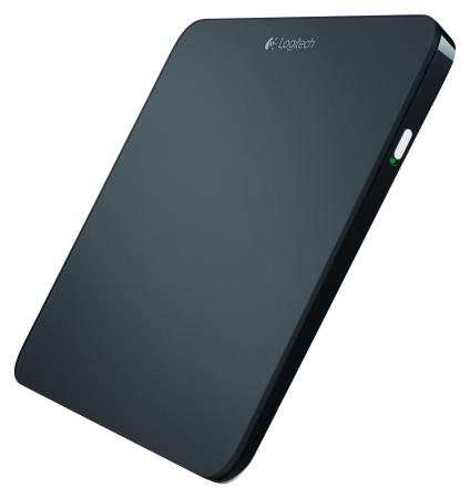 Logitech's T650 Wireless Touchpad, designed for use with the Windows 8 touch interface