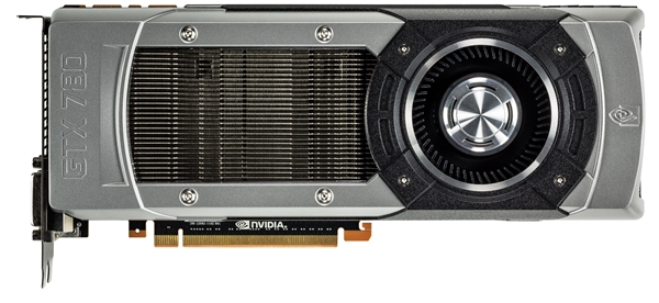 The NVIDIA GeForce GTX 780 feature the same GK110 chip as the GTX Titan; but its compute prowess is pared down with slightly less active CUDA cores and half the frame buffer. Fortunately, it still retains the 384-bit wide memory bus that dramatically increases memory bandwidth.