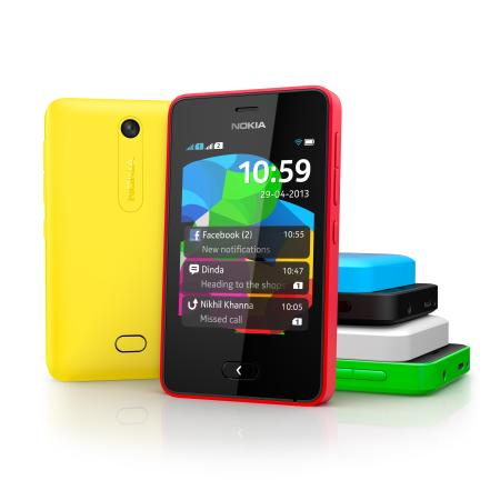The Nokia Asha 501 is the most affordable smartphone under the company's Asha lineup