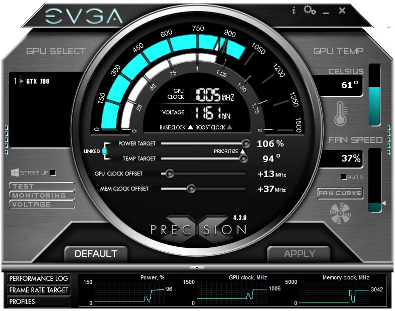 EVGA Precision X 4 2 0 Released - HardwareZone com sg