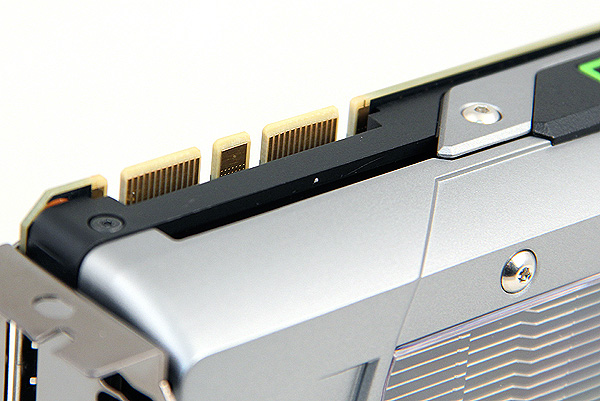 The GeForce GTX 770 has two SLI connectors, easily supporting 3-way SLI.
