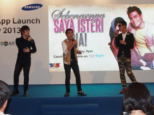And the event ended with a performance from the three-piece Malaysian boy band, Forteen