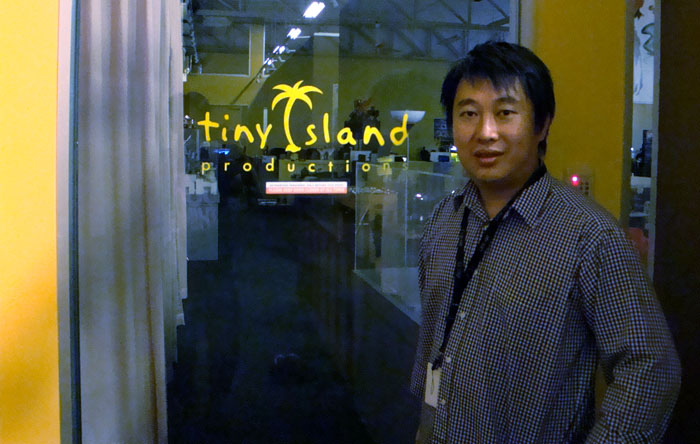David Kwok is the founder and CEO of Tiny Island Production (image courtesy of David Kwok).