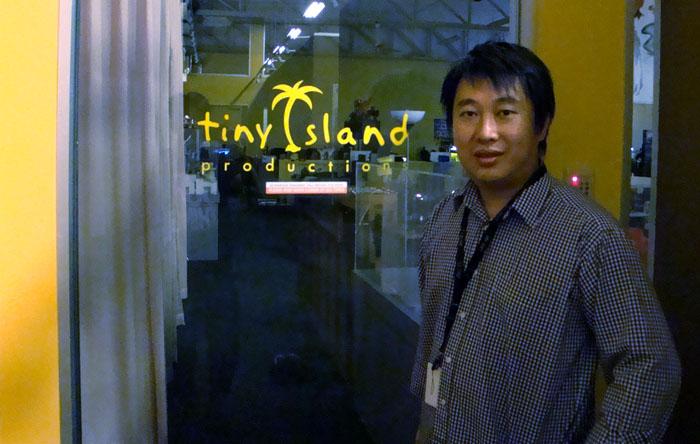 David Kwok is the founder and CEO of Tiny Island Production (image courtesy of David Kwok).
