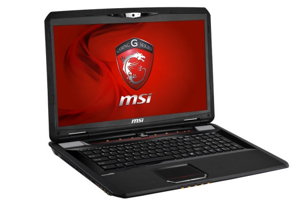 The MSI GX70 3BE Gaming series laptop. (Image Source: MSI)