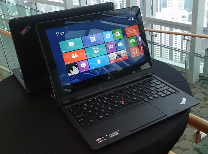 The Lenovo ThinkPad Helix is a hybrid Ultrabook that features a removable display. Once removed, the display becomes a powerful Windows 8 Pro tablet.