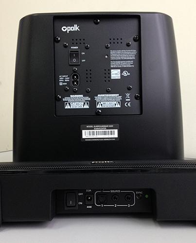 polk audio surroundbar 5000 manual