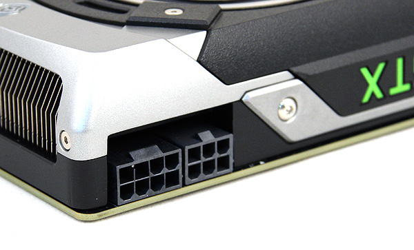 The GeForce GTX 770 draws its power using a 6-pin and 8-pin PCIe power connectors. NVIDIA recommends a PSU rated for at least 600W.