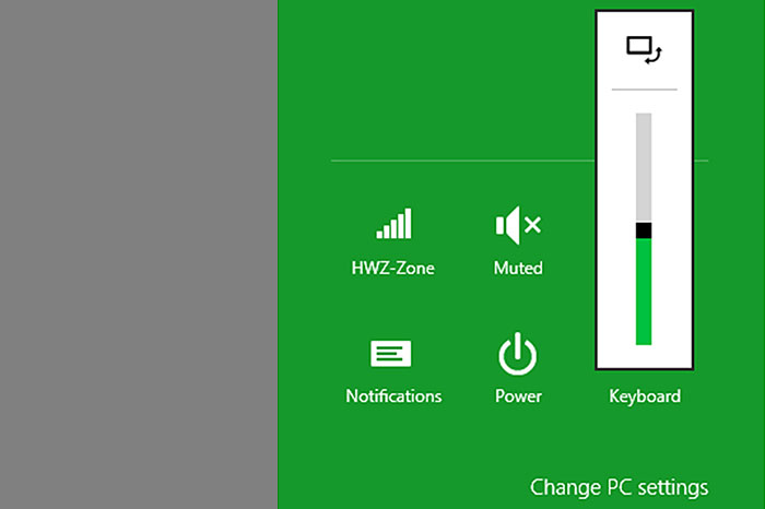 Okay, we admit: this rotation lock setting isn't a Surface exclusive; all Windows 8 tablets have it.