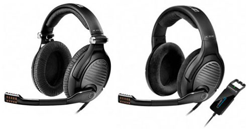 Sennheiser launches two new gaming headsets, the PC 350 Special Edition (left) and the PC 363D (right).