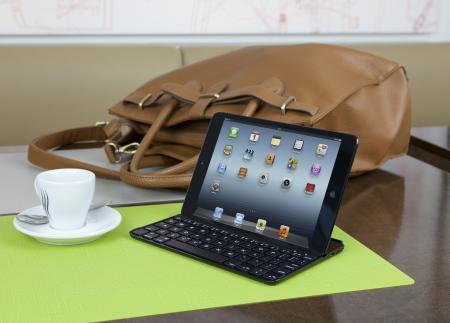 First designed for the iPad, the company's award-winning Ultrathin Keyboard cover is now available for the iPad mini.