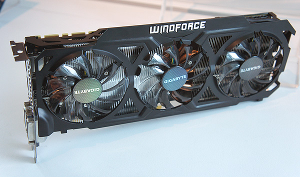 This is, to our knowledge, the first GeForce GTX Titan we have seen with a custom cooler.