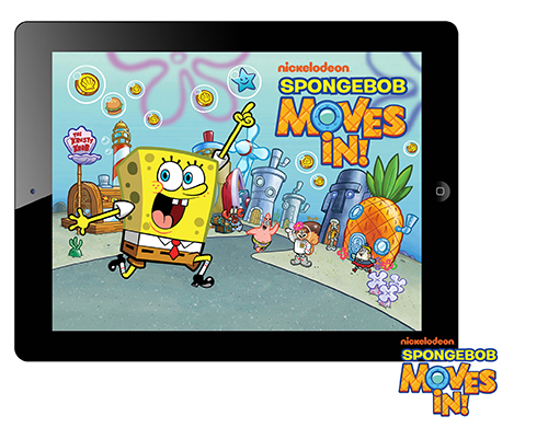 SpongeBob Moves In gives kids a whole new way to interact with their favorite Nick pal.