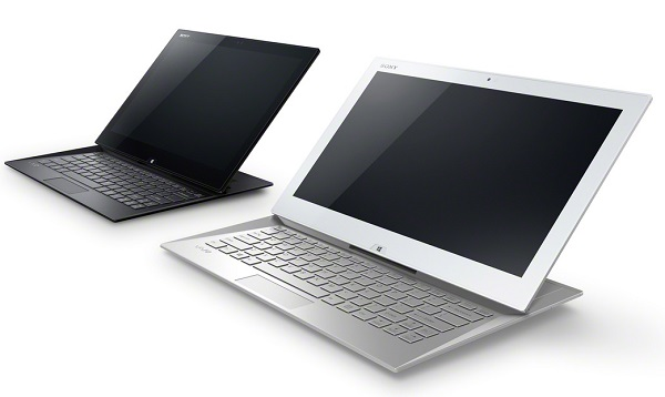 Presenting the VAIO Duo 13, now in a 13-inch form factor, and coming in both white and black.