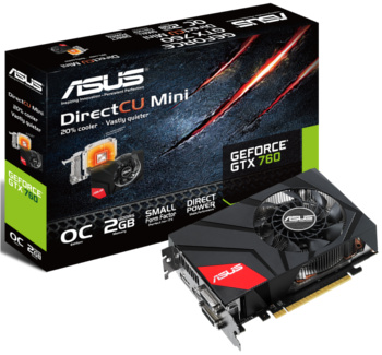 ASUS GeForce GTX 760 DirectCU Mini (GTX760-DCMOC-2GD5)