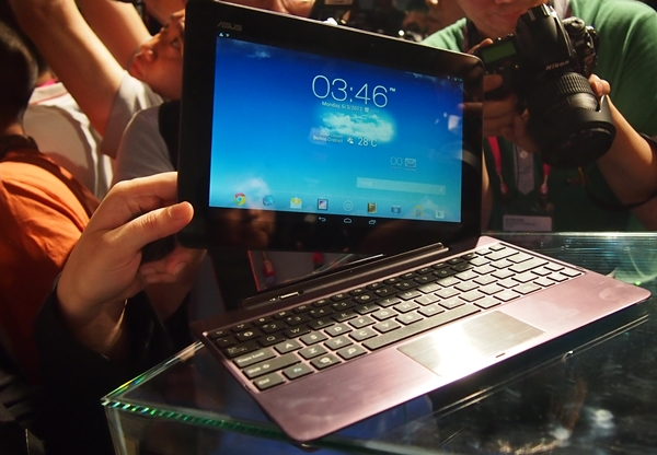 The ASUS Transformer Pad Infinity.